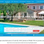 Vakantiehuis in Frankrijk, Italie, Spanje, of Belgie - Basic Travel